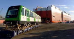 Alstom Ships First Additional Metropolis Train for Lima Metro