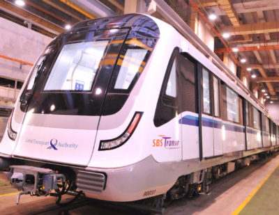 Bombardier Delivers 141 New Movia Metro Cars to Singapore