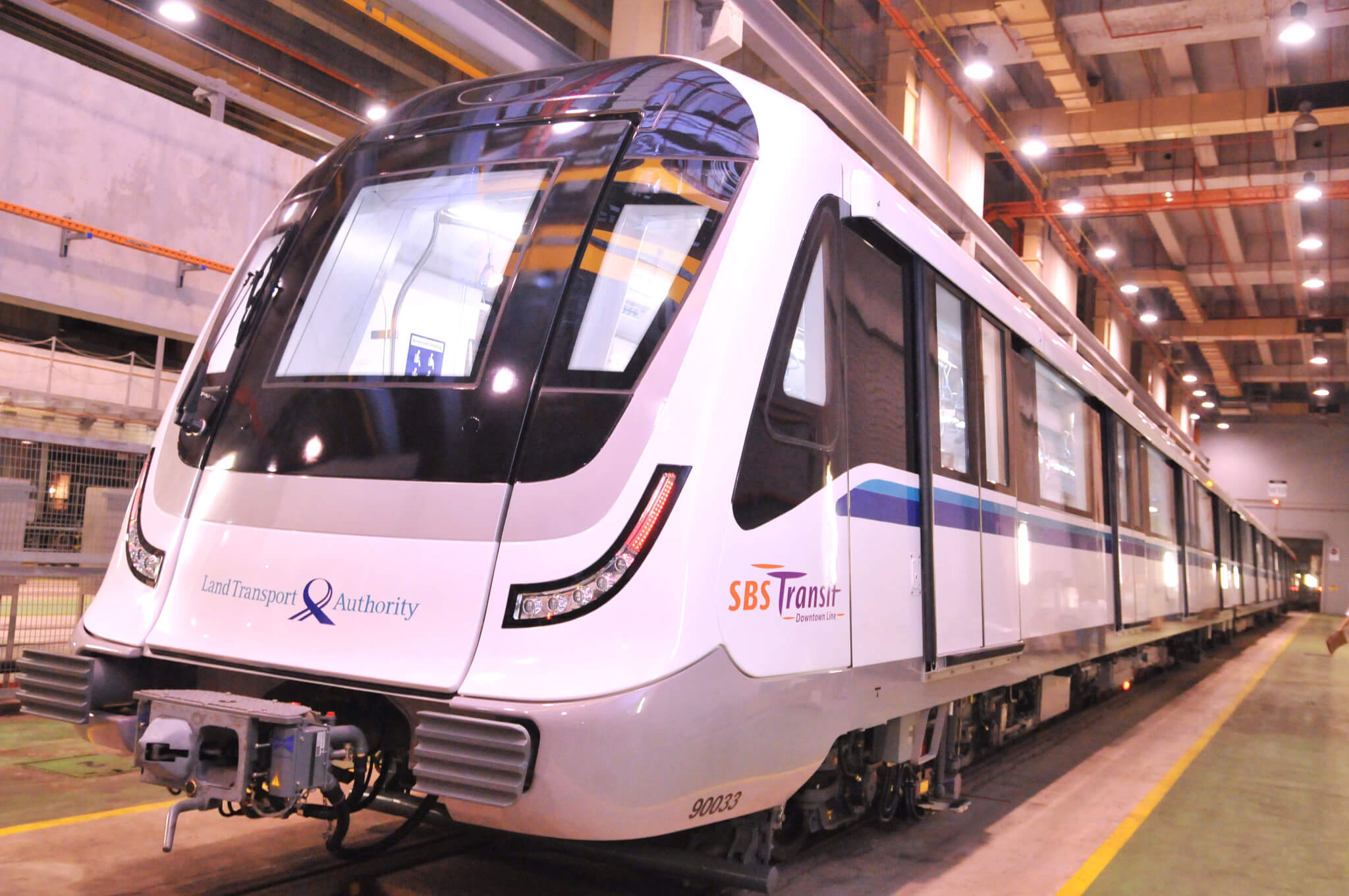 Bombardier Movia metro for Singapore