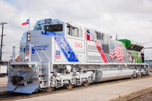 Union Pacific Unveils Locomotive Honouring U.S. Armed Forces