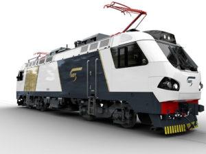 Prima M4 passenger locomotive