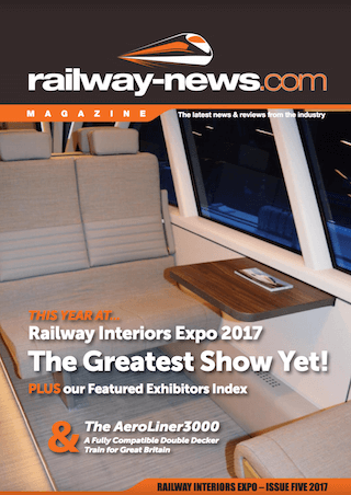 Railway-News Magazine Railway Interiors Expo 2017