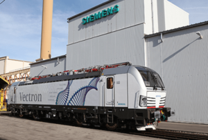 Siemens Multisystem Vectron Locomotive Certified for the Netherlands