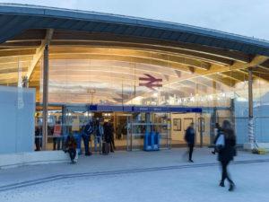 Crossrail – Abbey Wood Station