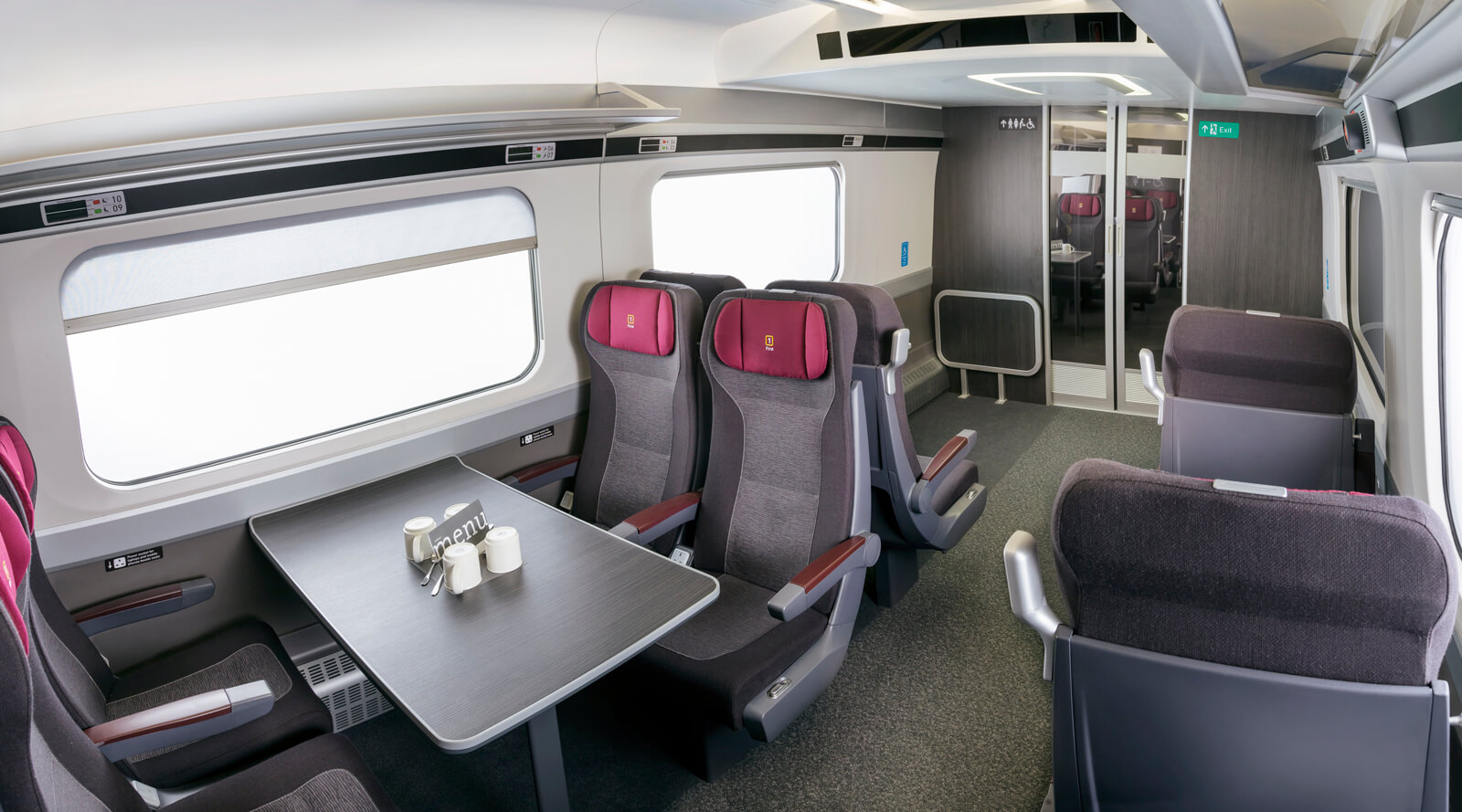 Hitachi Europe - Intercity Express cab and carriage mock-up