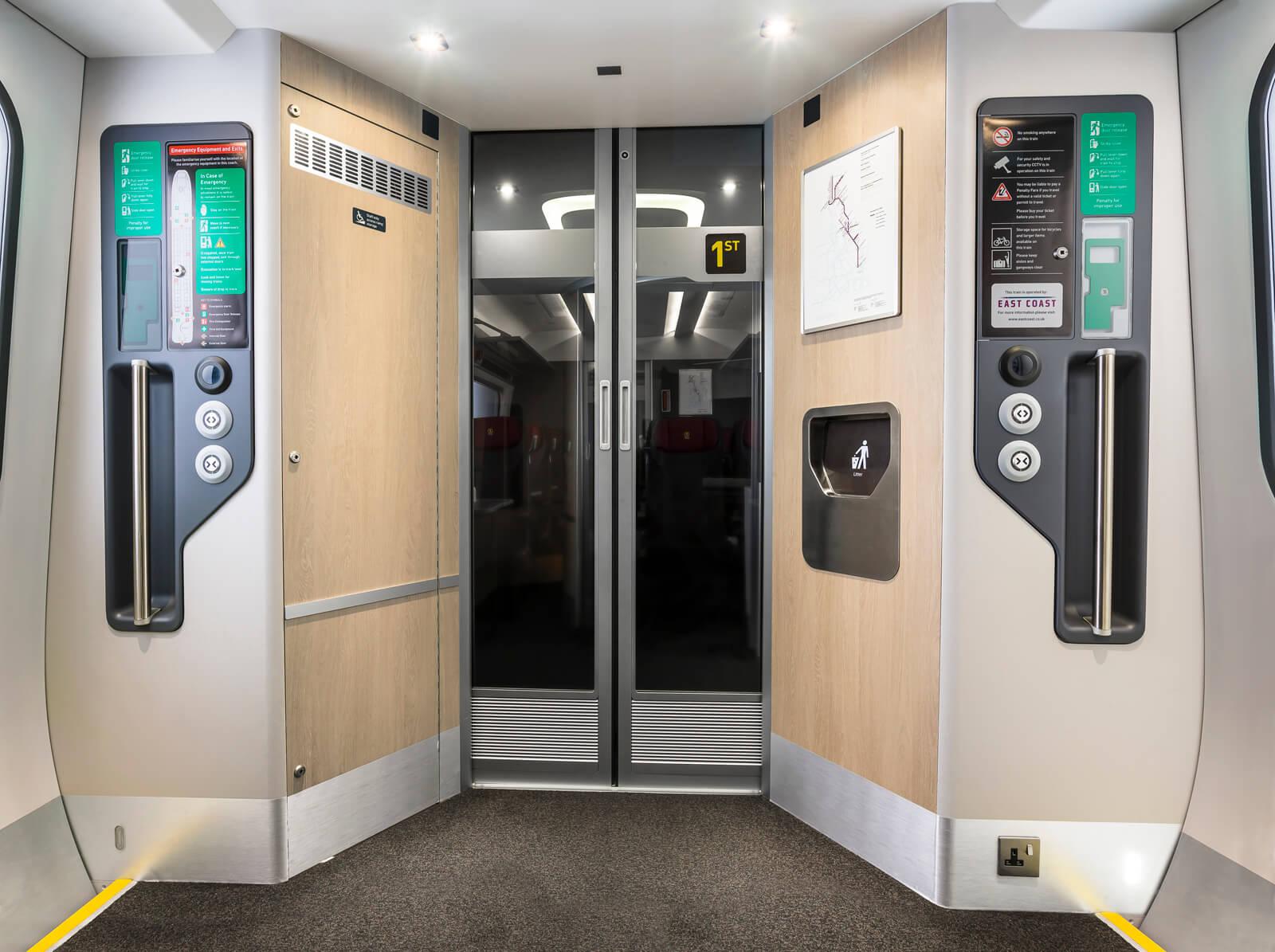 Hitachi Europe - Intercity Express cab and carriage mock-up