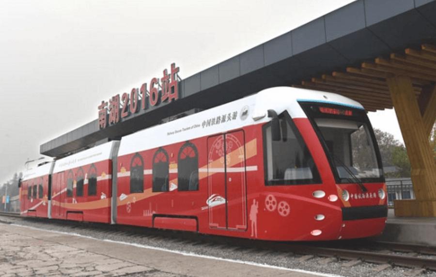 Hydrogen-Powered Tram