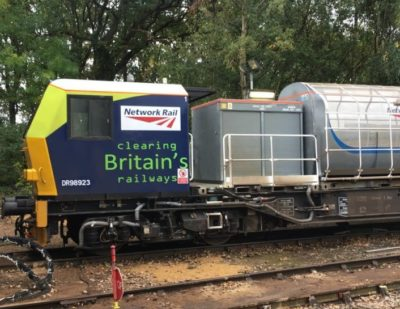 Leaf Busting Trains to Keep Passengers Moving Through Autumn