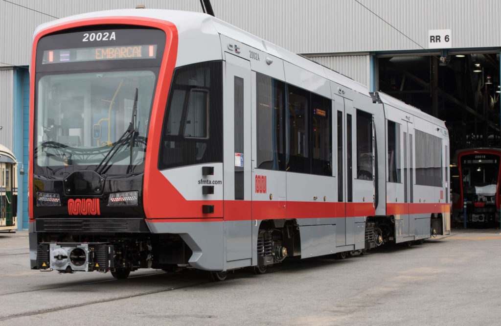 Siemens-Built Light Rail Vehicles