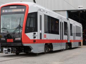 Siemens-Built Light Rail Vehicles