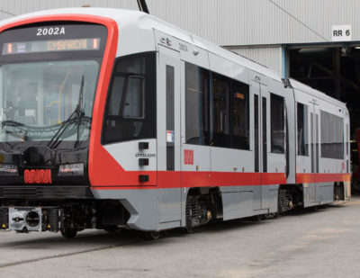 Siemens-Built Light Rail Vehicles Begin Revenue Service in San Francisco