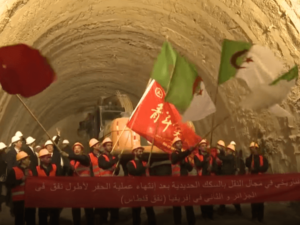 North Africa's Longest Rail Tunnel