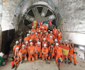 Tunnelling Complete on London Underground's Northern Line Extension
