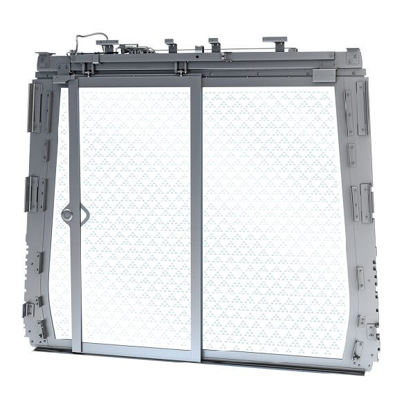 Latest co-development with a valued customer gave birth to a new product for Metros: the EW20 full glass partition