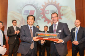 CRRC and Rolls-Royce Partnership