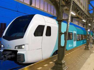 Vegetable Oil Hybrid Diesel Trains