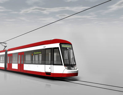BOMBARDIER FLEXITY vehicles for DVG