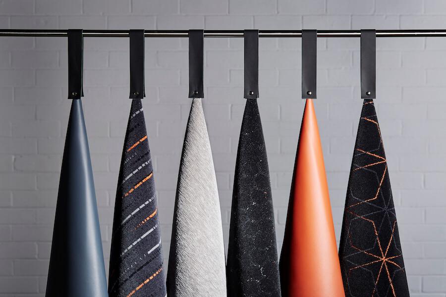 Camira Fabrics for the Ideas Train