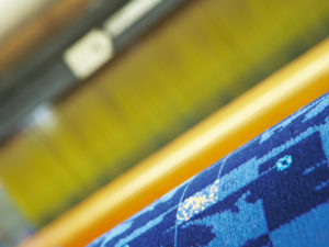 Made to order rail seating fabrics