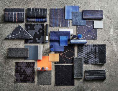 Patterned moquette fabric, Aura Twist