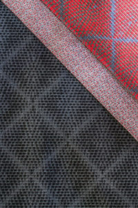 Wire-woven fabric, Wired
