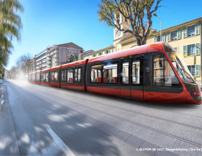 Nice Orders 6 Additional Catenary-Free Citadis Trams