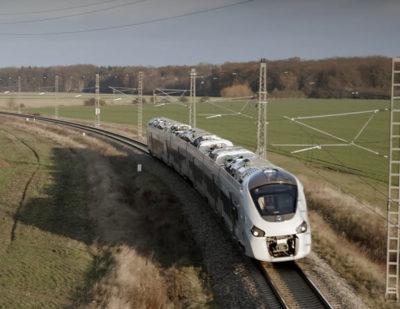 Coradia Trains for Algeria Begin Dynamic Testing