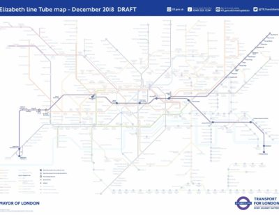 New December 2018 Tube Map Featuring the Elizabeth Line Unveiled