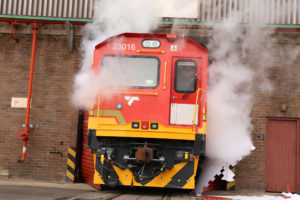 Bombardier and Transnet Celebrate Handover of First TRAXX Locomotive