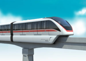 Bombardier-CRRC Secure First Monorail Contract in China