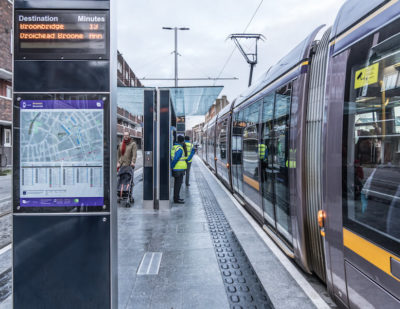 Luas Cross City Line Enters Passenger Service in Dublin