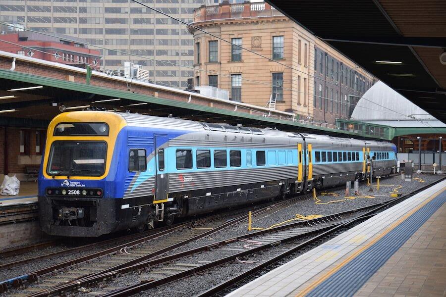 NSW Regional Train Fleet