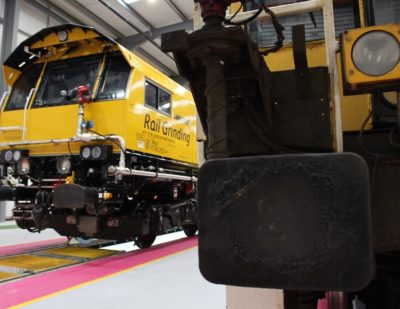 Network Rail Unveil Britain's Innovative New Grinding Trains