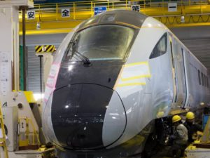 Intercity train for TransPennine Express