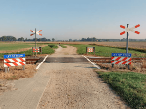 Unguarded Level Crossings