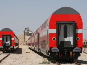 Double-Deck Coaches for Israel Railways