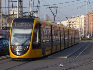 Trams for Budapest
