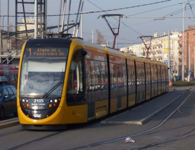 CAF Set to Supply Additional Trams for Budapest