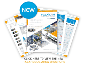 Flexicon Launches New Cable Protection for Hazardous Areas Guide