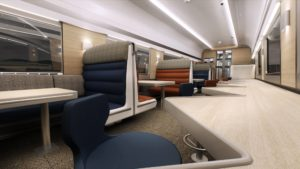 First of New CAF-Built Caledonian Sleeper Trains Arrive in UK