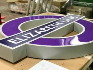 Iconic Roundels Installed at Elizabeth Line Stations