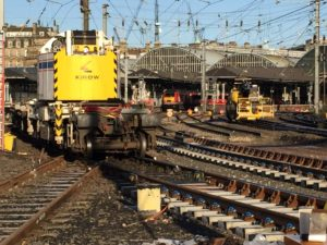 Newcastle Station Track Upgrade