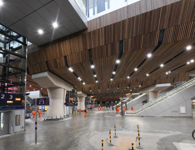 Historic London Bridge Station Redevelopment Nears Completion