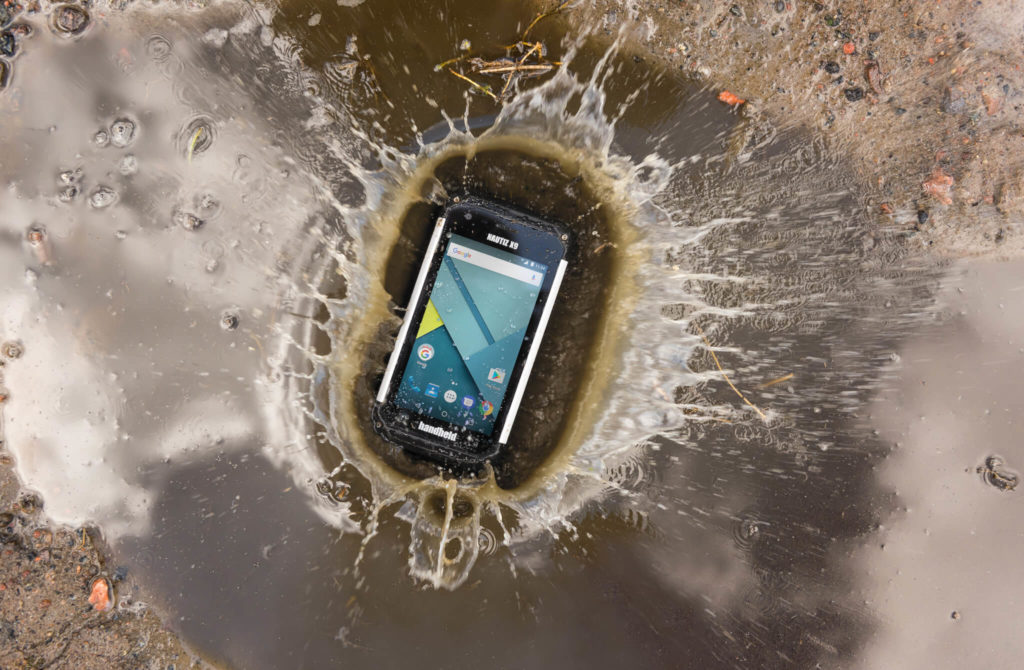 Outdoor-rugged Android PDA
