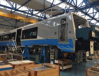 New Regional Trains for Greater Anglia Take Shape
