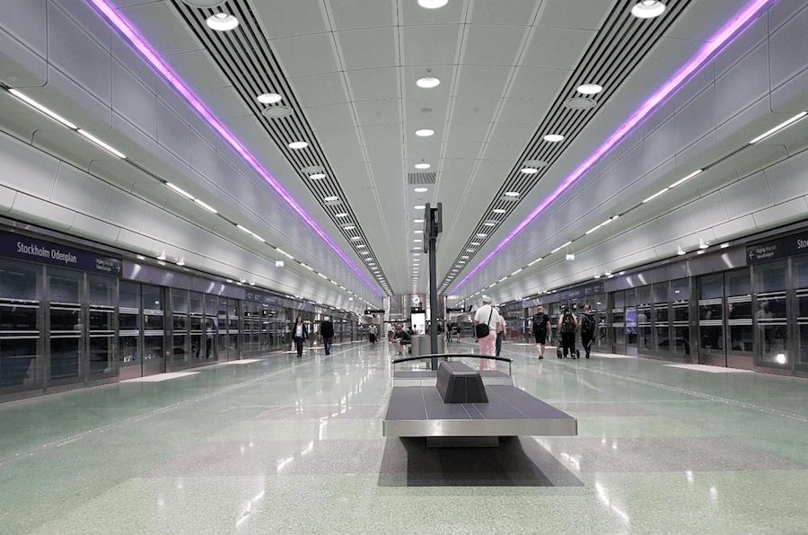 Stockholm Odenplan Station