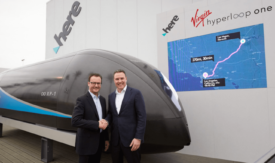 Virgin Hyperloop One Pod