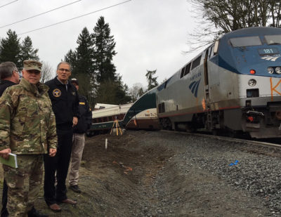 Investigators Release Update On Washington Train Derailment