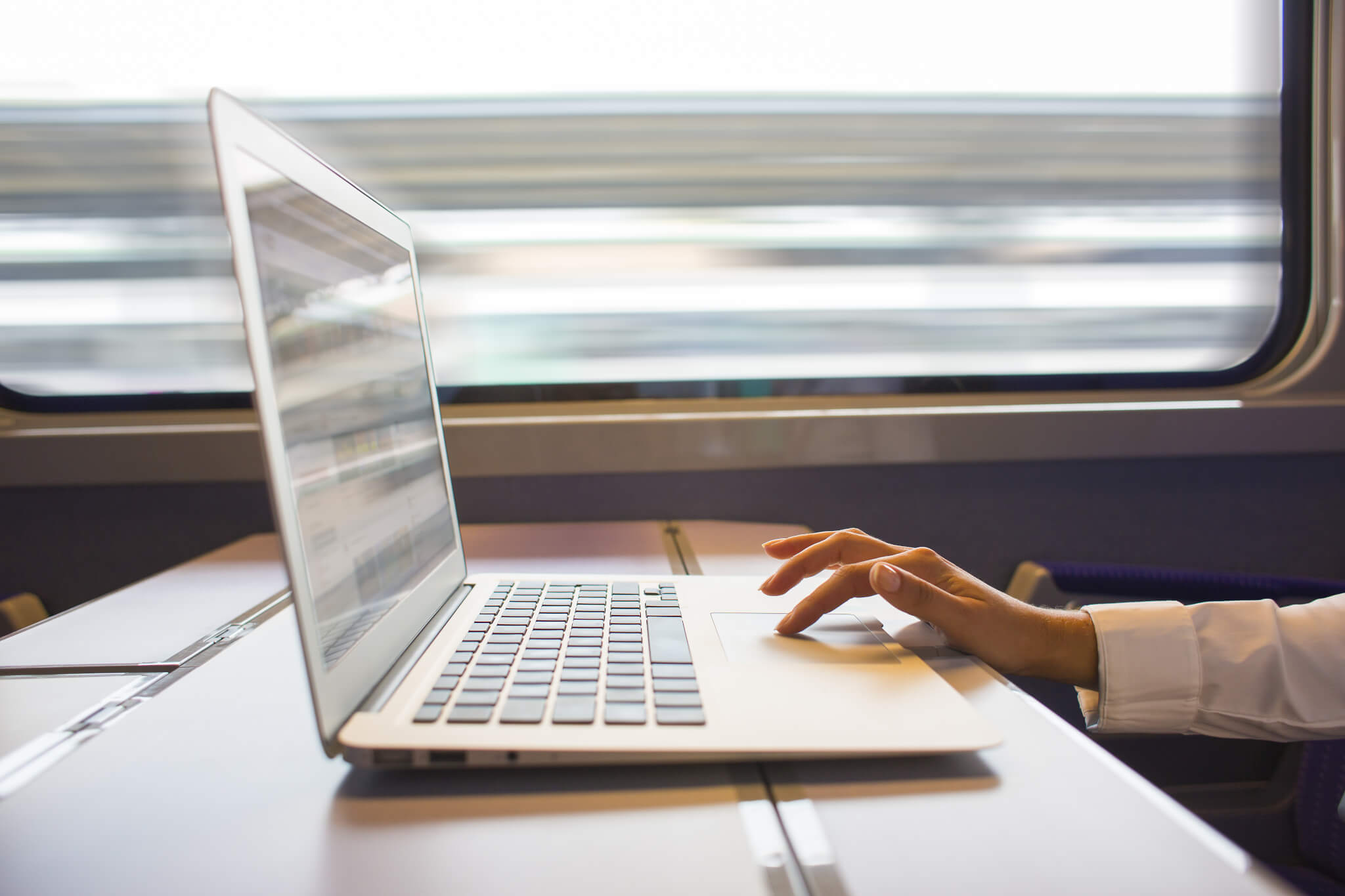 Passenger WiFi on Trains