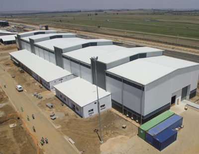 New Train Manufacturing Plant in South Africa Nears Completion